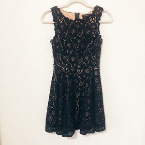 Jodi Kristopher Juniors Black Lace Dress Size 3